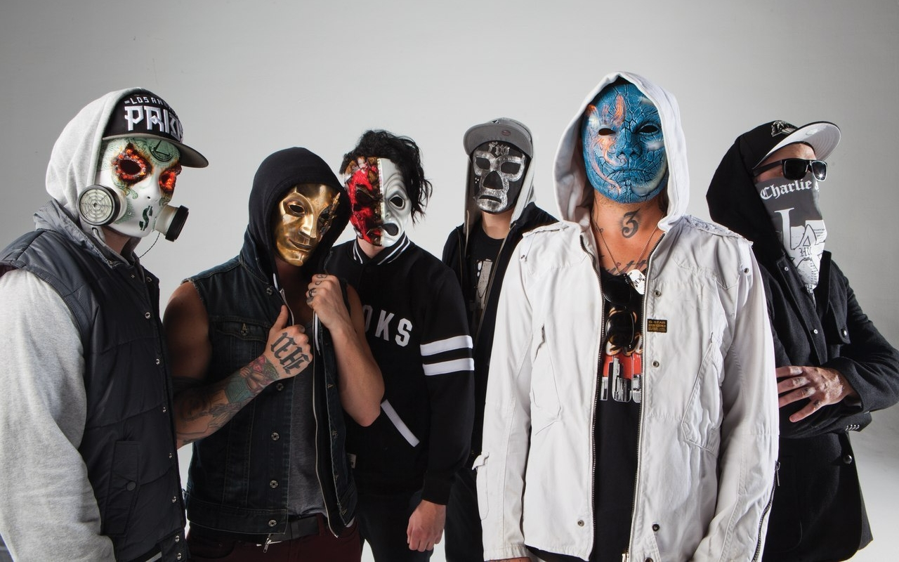 Фото Hollywood Undead концерт в СПб 4 марта 2018